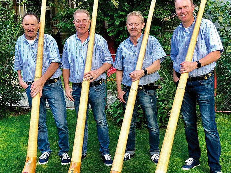 Lochus Alphorn-Quartett